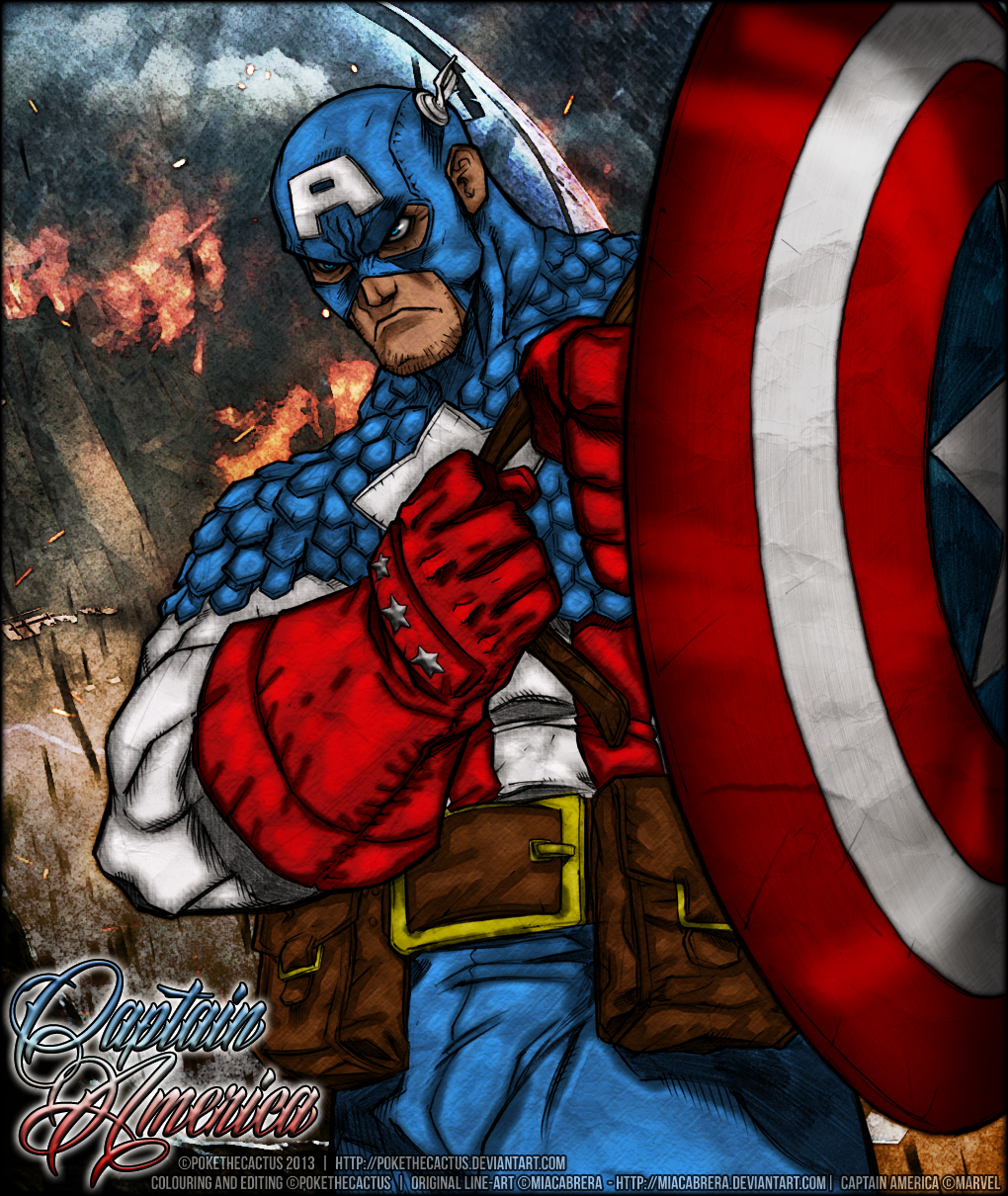 The Star Spangled Man by PokeTheCactus