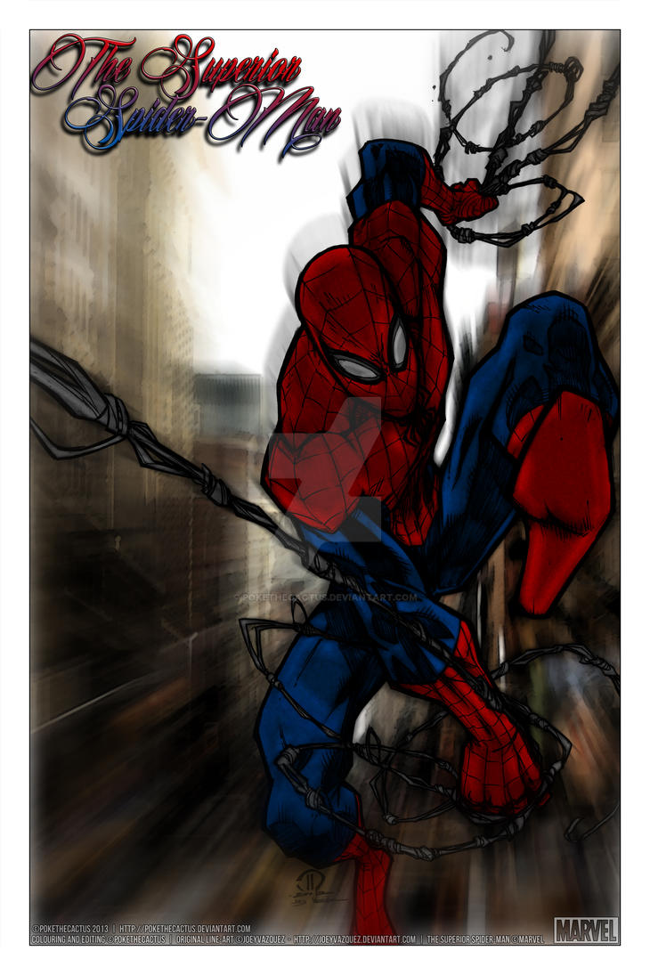 The Superior Spider-Man by PokeTheCactus