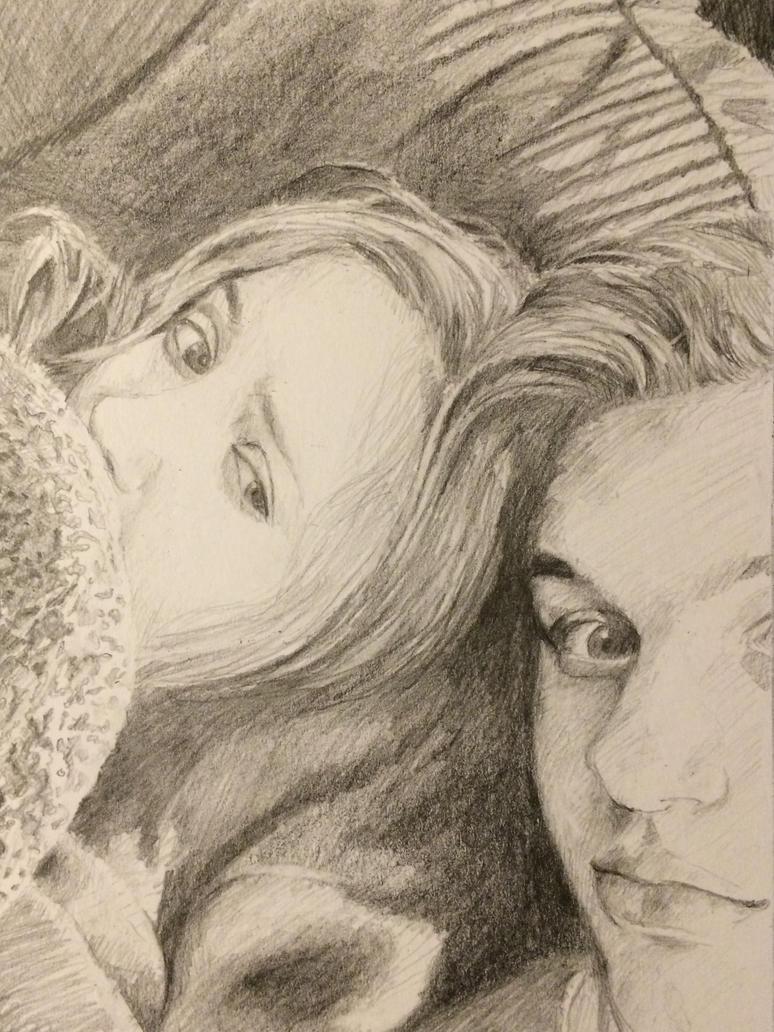 Couple Selfie by asomr1