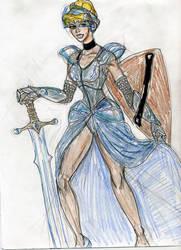 Cinderella Warrior princess by theaven