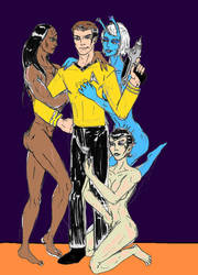 Captain Kirk by theaven