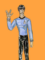 Spock by theaven