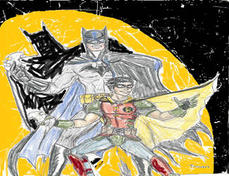 Batman And Robin by theaven