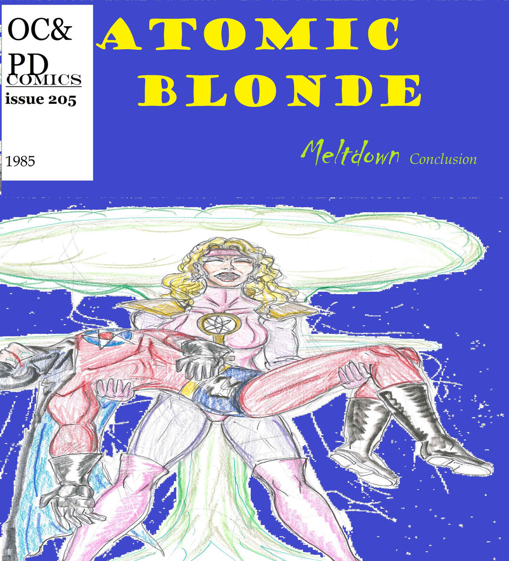 Atomic Blonde Comic Cover By Theaven On Deviantart