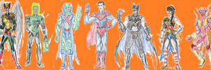 Justice League redesign by theaven
