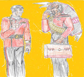 Spock meets Worf by theaven