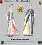 Triwizard Tournament Poster Hogwarts by theaven