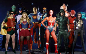Crisis on infinite earth's 2 (TV JLA) update by theaven
