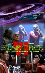 Star Trek Undiscovered country poster by theaven
