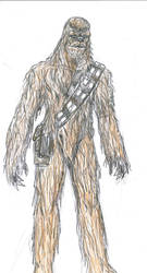 Chewbacca by theaven