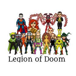 Legion of Doom micro heroes by theaven