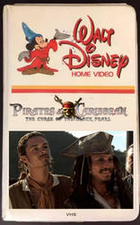 Pirates of the Caribbean 80s VHS by theaven