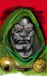 Doom bust (updated) by theaven