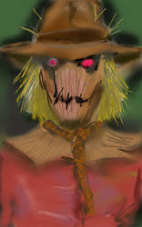 Scarecrow bust by theaven