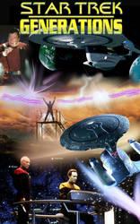Star trek Generations poster by theaven