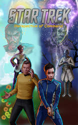Star Trek book cover 2 by theaven