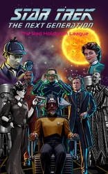 Star trek TNG book cover by theaven