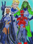 My All new Fantastic four roster