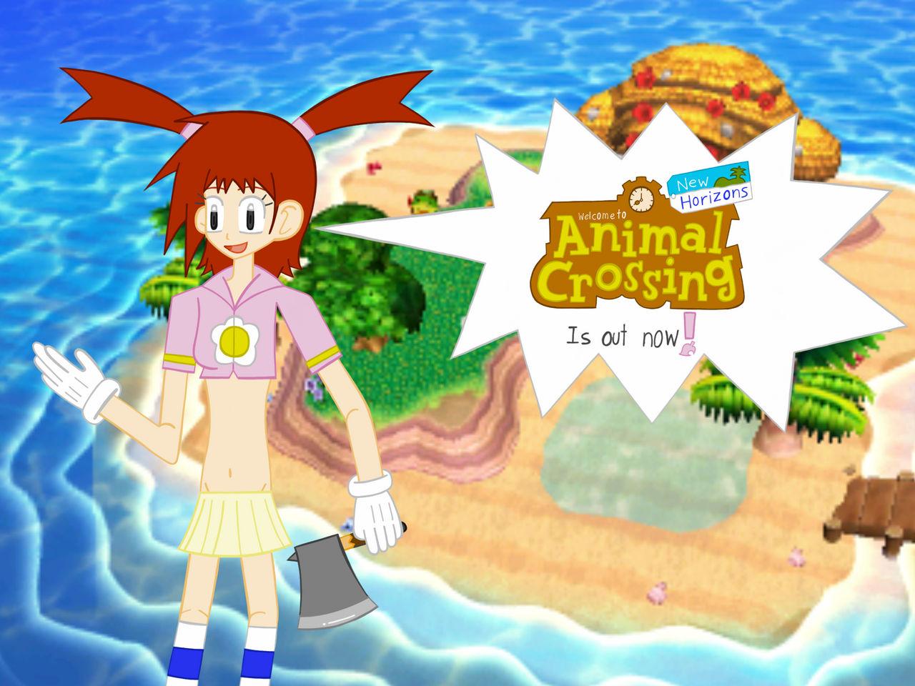 Ai Advertises Animal Crossing New Horizons By Rowanakamiya185 On
