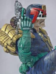 Judge Dredd my sculpture by play3951