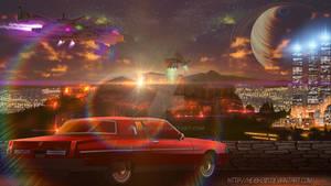 COMM:Future Acropolis and Oldsmobile 98 mod 1983