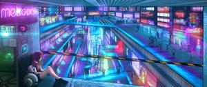 CyberPunk City: Galaxy Girl 0