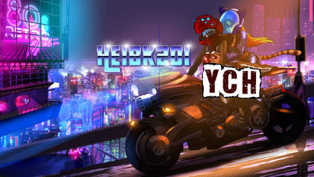 Comm: YCH Midnight City Ride by HeiBK201
