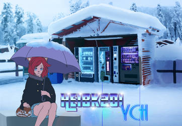 YCH Comm: Winter Stop by HeiBK201