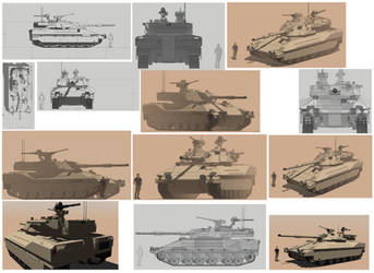 3d Sketchup: TAM 3 Tanque Argentino Mediano 3 by HeiBK201