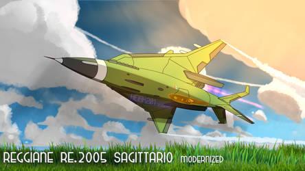 Reggiane Re.2005 Modernized by HeiBK201