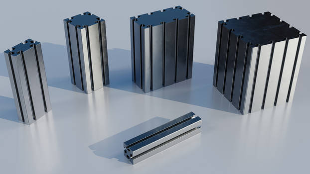 Profiles - Nondestructive, generic 40x40 mm based