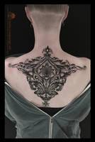 Baroque trapezoid piece
