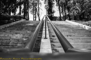 A escada. by claket57