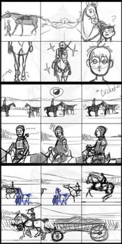 Prologue sketches 1-2-3