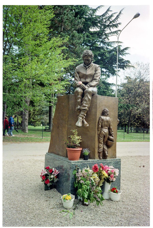 Senna Monument, Imola by TLO-Photography