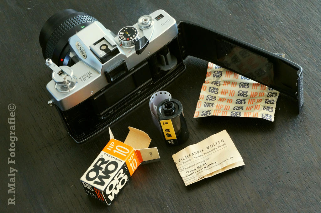 ORWO NP10 experiment: the tools by TLO-Photography