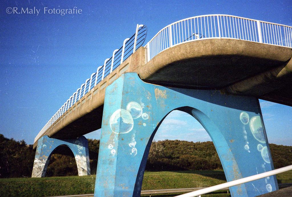 Blue bridge by TLO-Photography