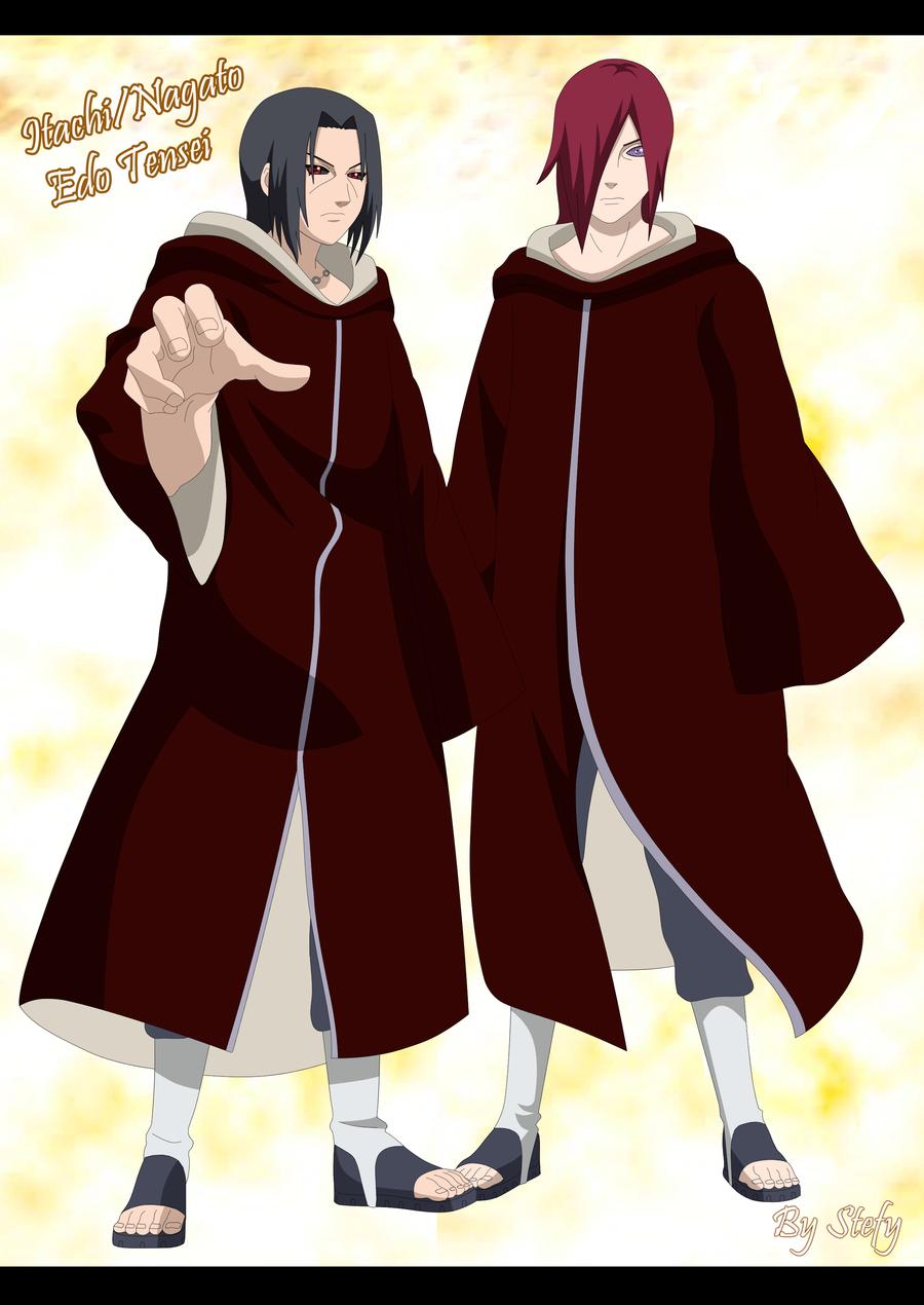 Itachi and Nagato poster by KushinaStefy on DeviantArt