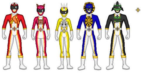 Mighty Morphin' Power Rangers of  Tolric by powrpurpl