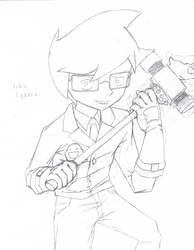Homestuck 01 - John Egbert