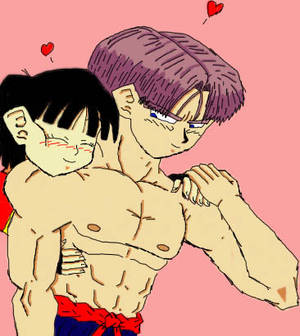 Pan and Trunks I Colored