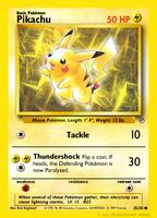 Base Revival #25 - Pikachu by KataraWaterbender