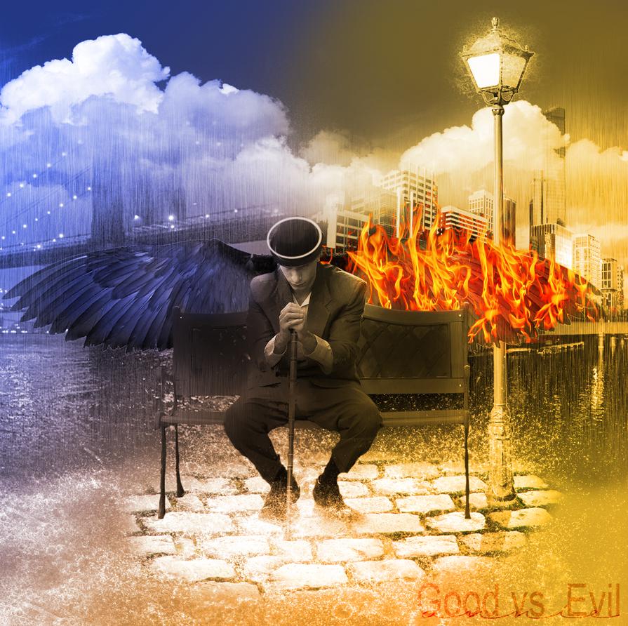 Good Vs Evil by annielewis on DeviantArt