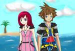 Celestial Days: Sora and Kairi