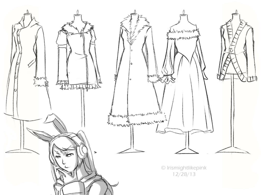 Fashion Designer Clothes Girly