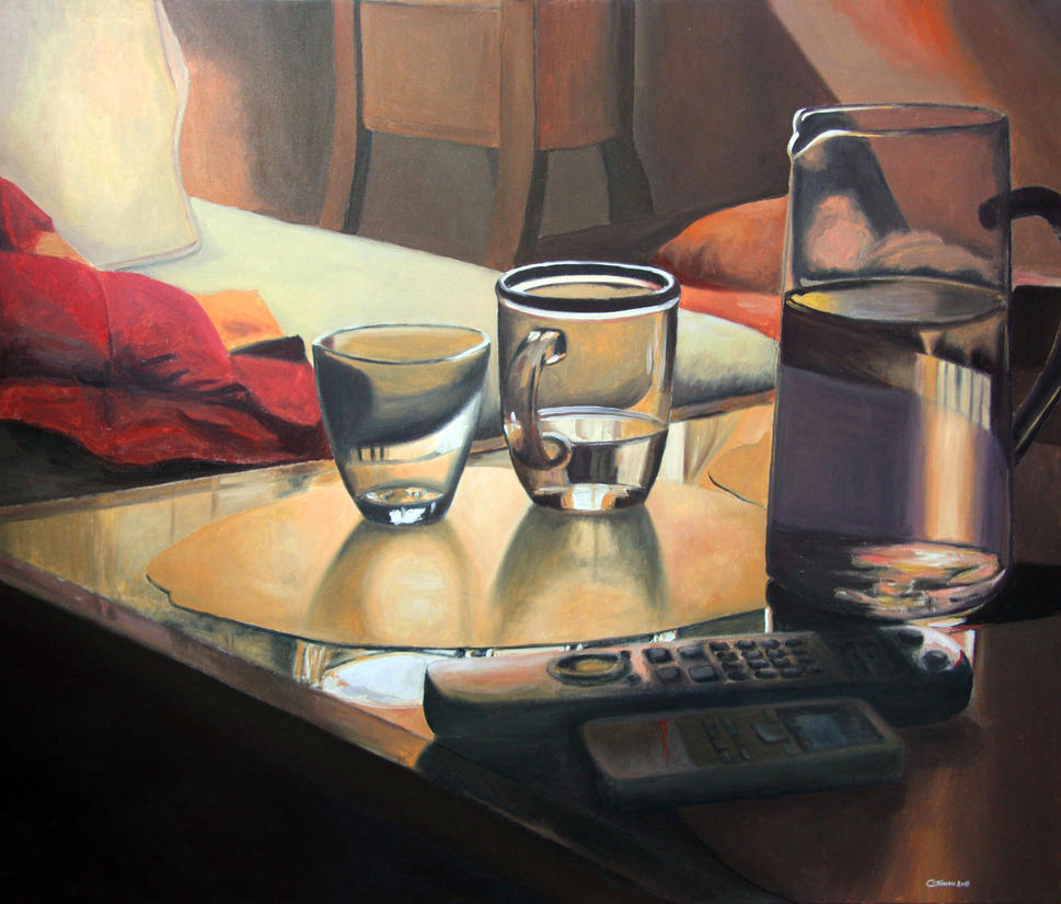 Still life with remotes by cesaretanassi