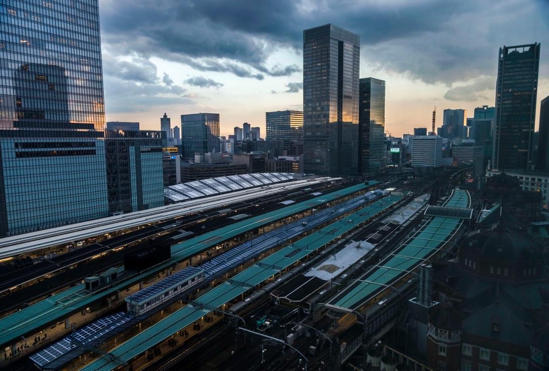 My Tokyo Station by cesaretanassi