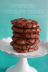 Outrageous Chocolate Cookies by Lyzie