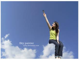 Sky painter by Lyzie