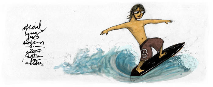 Surfer's Mug G2007 Edition